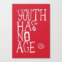 Youth Has No Age Canvas Print