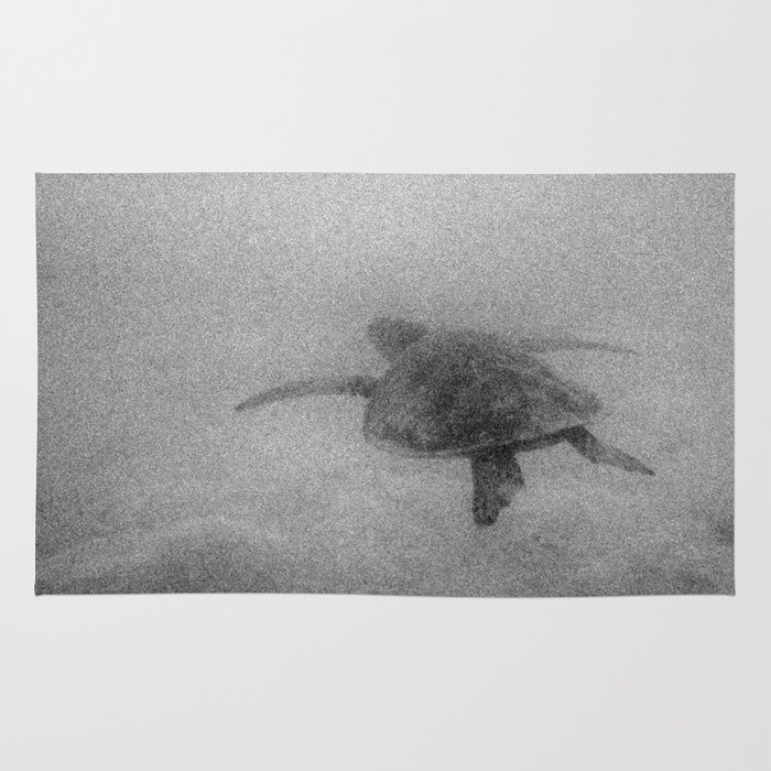 Sea Turtle Rug By Elijah Woolery