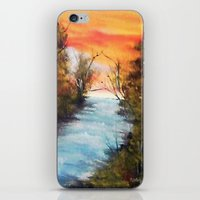 Lazy River iPhone & iPod Skin