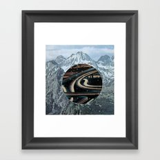 secret highway Framed Art Print
