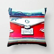 Nice Rear Throw Pillow