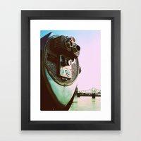 Lookin' through Framed Art Print