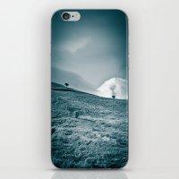 Moody hill iPhone & iPod Skin