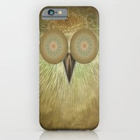 iPhone & iPod Case featuring The Owl by Digital-Art
