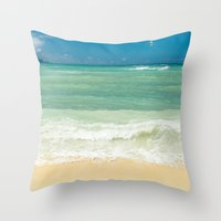 Kite Beach Maui Hawaii Throw Pillow