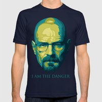 Breaking Bad Walter Whit… Mens Fitted Tee Navy SMALL