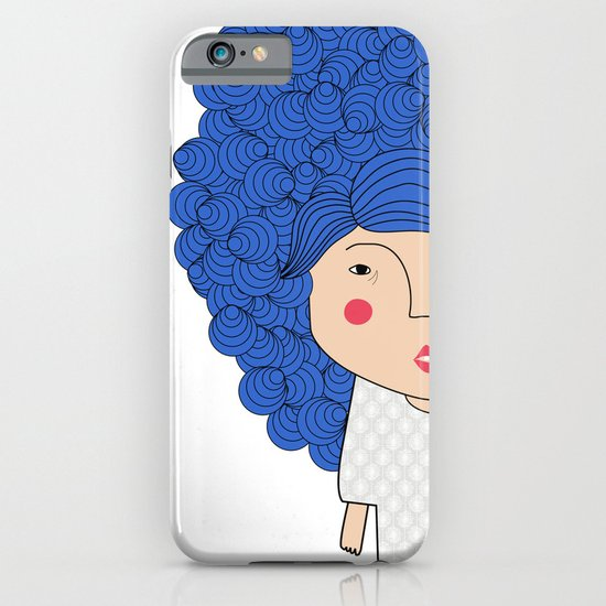 Mss Blue iPhone & iPod Case