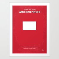 No005 My American Psycho… Art Print