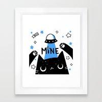 mine Framed Art Print