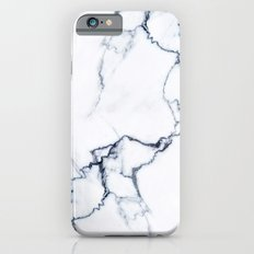 Black and White Marble Slim Case iPhone 6s