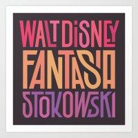 Fantasia Art Print