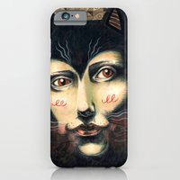 iPhone & iPod Case featuring Cat Story by Mary Delioussina