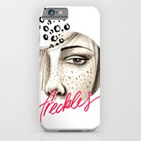 iPhone & iPod Case featuring Freckles by Giulia Santopadre