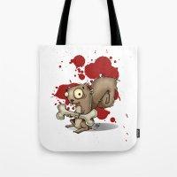 Le Wild Squirrel Tote Bag
