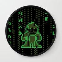 The Pixel Matrix Wall Clock