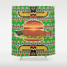 Alaska Burger Shower Curtain
