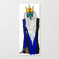 Ice King - My Mind is Changing Canvas Print