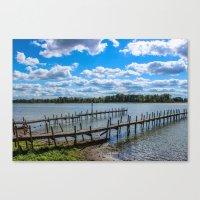 Buckeye Lake Canvas Print