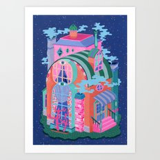 The Seeing House Art Print