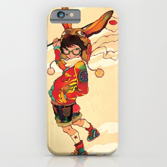 The land of the rising zine iPhone & iPod Case