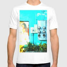 #KEY WEST POETRY by Jay Hops SMALL White Mens Fitted Tee
