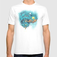 Cocijo's 925 Mens Fitted Tee White SMALL