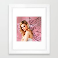 Flower Fairy I Framed Art Print