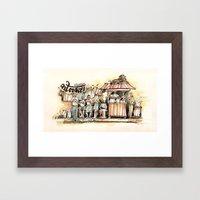 Kolkata Series 2 Framed Art Print