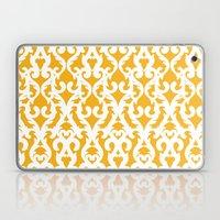 Modern Baroque Yellow Laptop & iPad Skin