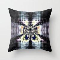 Purple Space Throw Pillow