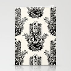 Hamsa Hand Pug Stationery Cards