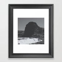 Canyon Wall Framed Art Print