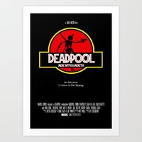 Deadpool : Merc with a Mouth Art Print