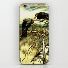 The Two Crows iPhone & iPod Skin