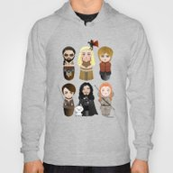 Kokeshis Game Of Thrones Hoody