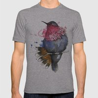 Humming Bird Mens Fitted Tee Athletic Grey SMALL