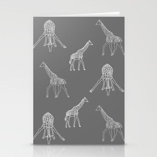 Strike a Pose (Giraffe) Stationery Card