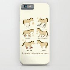 Horse Shoes Slim Case iPhone 6s