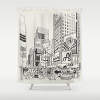 The Heart Beats In Its Cage Shower Curtain