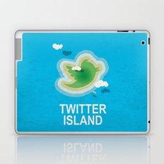 Twitter Island Laptop & iPad Skin