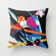 Phantom Detective Throw Pillow