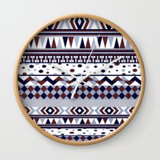 Tribal Vibe Wall Clock