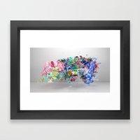 Colour Form & Expression… Framed Art Print