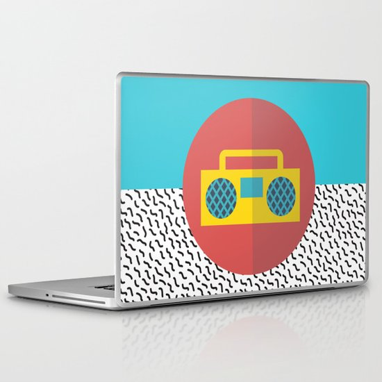 Nice People Like Music Laptop & iPad Skin