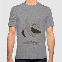 Chicharritas - Cuba On M… Mens Fitted Tee Athletic Grey SMALL