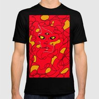 Beautiful Chaos Mens Fitted Tee Black SMALL
