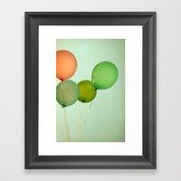 Revelry Framed Art Print