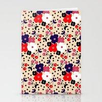 Cream Cherry Stationery Cards