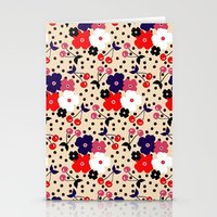 Cream Cherry Stationery Cards