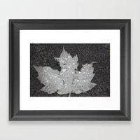 Happy Canada Day Framed Art Print